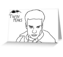 Twin Peaks: James Greeting Card