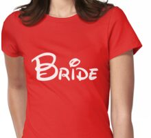 Bride Letters Womens Fitted T-Shirt