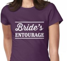 Bride's Entourage Womens Fitted T-Shirt