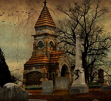 Oakland Cemetery, Atlanta, Ga by Scott Mitchell