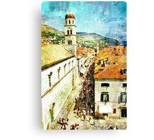 Vintage Travel Photo - 1 Canvas Print