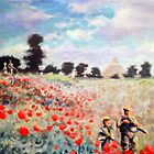 Poppies by Matthew Scotland