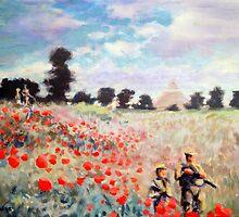 Poppies by Calgacus