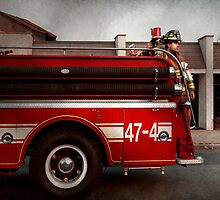Fireman - Metuchen, NJ - Always on call by Mike  Savad