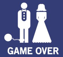 Wedding. Game Over. Ball & Chain by bridal