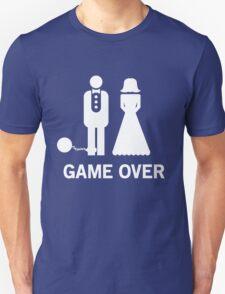 Wedding. Game Over. Ball & Chain T-Shirt