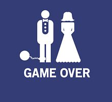 Wedding. Game Over. Ball & Chain Unisex T-Shirt