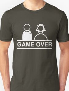 Game over with bride and groom T-Shirt