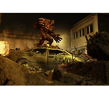 The Infernal Behemoth - Hell in The City Photographic Print