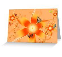 Garden of Butterflies Greeting Card