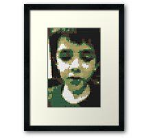 lego zaine Framed Print