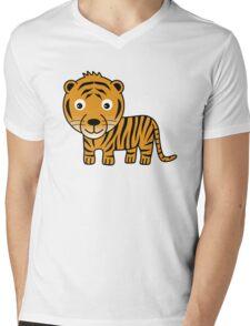 My Day at the Zoo - Tiger Mens V-Neck T-Shirt