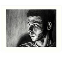 Looking: Brandon Woodall Art Print