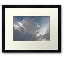 Sun Streaks 2 Framed Print