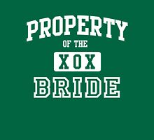 Property of the Bride XOX Unisex T-Shirt