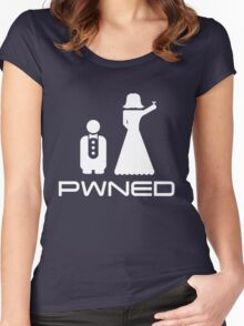 Pwned. Marriage Women's Fitted Scoop T-Shirt