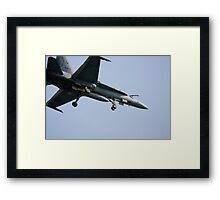 Flyover. Framed Print