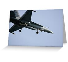 Flyover. Greeting Card