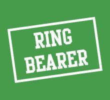 Ring Bearer Box One Piece - Short Sleeve