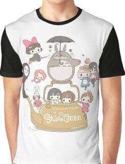 Studio Ghibli Friends Graphic T-Shirt