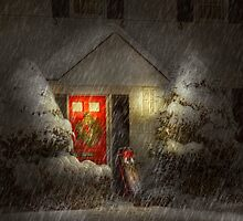 Winter - Westfield, NJ - T'was the night before Christmas  by Mike  Savad