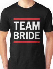 Team Bride - Red Lines Unisex T-Shirt