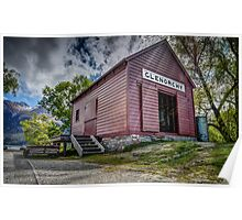 Glenorchy Boat Shed Poster