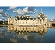 Le Grand Château de Chantilly  © Photographic Print