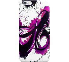 """""""a"""" iPhone Case/Skin"""