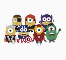 The Avengers Minions by MBLOCK
