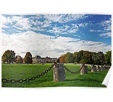 From A Distance - Château de Chantilly © Poster