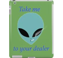 take me to your dealer blue version iPad Case/Skin