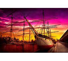 Boat - Sailing - Fleet week Photographic Print
