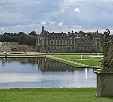 A Rear View Of the Château de Chantilly © by © Hany G. Jadaa © Prince John Photography