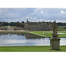 A Rear View Of the Château de Chantilly © Photographic Print