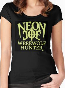 Neon Joe Werewolf Hunter Women's Fitted Scoop T-Shirt
