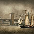 Boat - Sailing - Govenors Island, NY - Clipper City by Mike  Savad