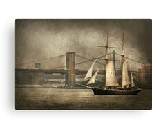 Boat - Sailing - Govenors Island, NY - Clipper City Canvas Print