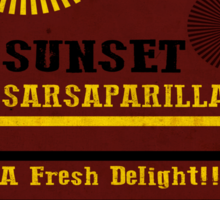 Sunset Sarsaparilla Phone Case Sticker