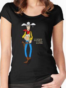 Lucky Luke III Women's Fitted Scoop T-Shirt