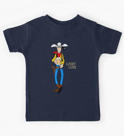 Lucky Luke III Kids Tee