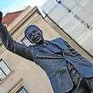 Nelson Mandela by Cora Wandel