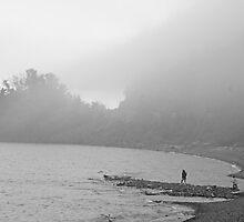 Fog Moving In by Gary Horner