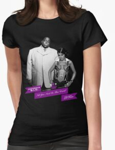 Mr. & Mrs. White Womens Fitted T-Shirt