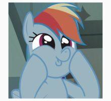 Rainbow Dash Season 4 Wub Face by LopperUK