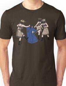 Dalek Babes Destroy Tardis Unisex T-Shirt