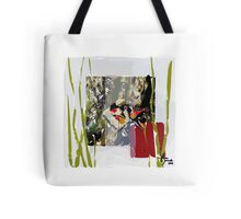 abstract fish (horizontal) Tote Bag
