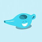 Happy Neti Pot by Michelle Knight