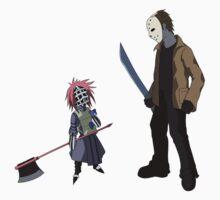Liz vs Jason by ecchinx