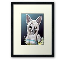 Summer Ivy - Fennec Fox Girl Framed Print